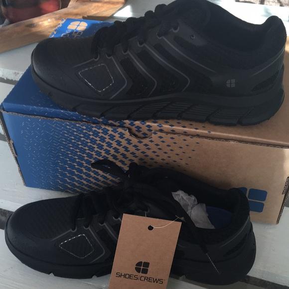 Crews Nonslip Black Work Shoes | Poshmark